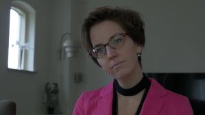 Margot in de documentaire 'Man in de knoop' van Frans Bromet